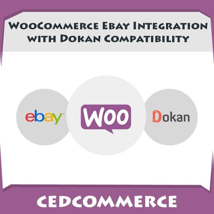 Woocommerce-Ebay Integration with Dokan
