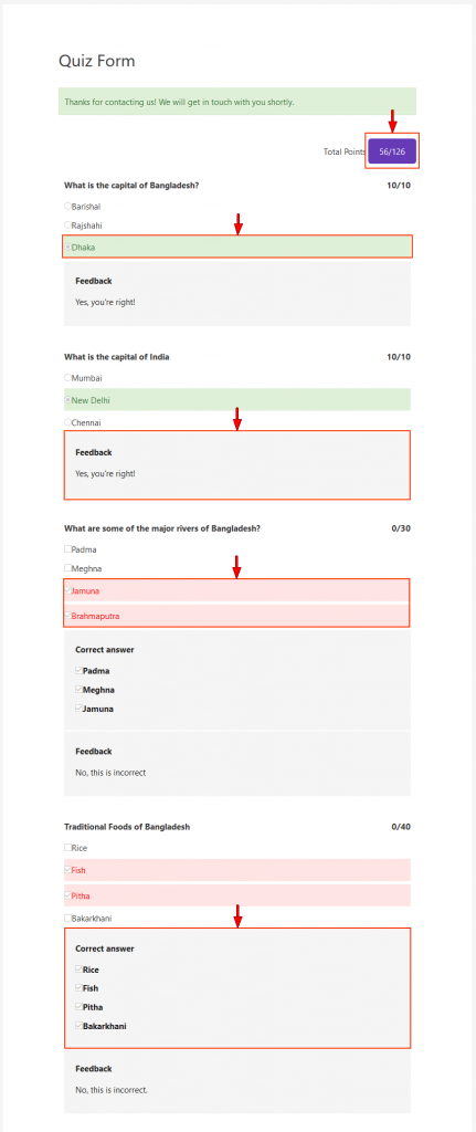 Create Trivias & Assignments with the Quiz Module for weForms - weDevs